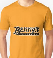 Benny's Billiards from Rumble Fish Unisex T-Shirt