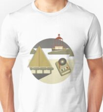 Moonrise Kingdom vector graphic T-Shirt