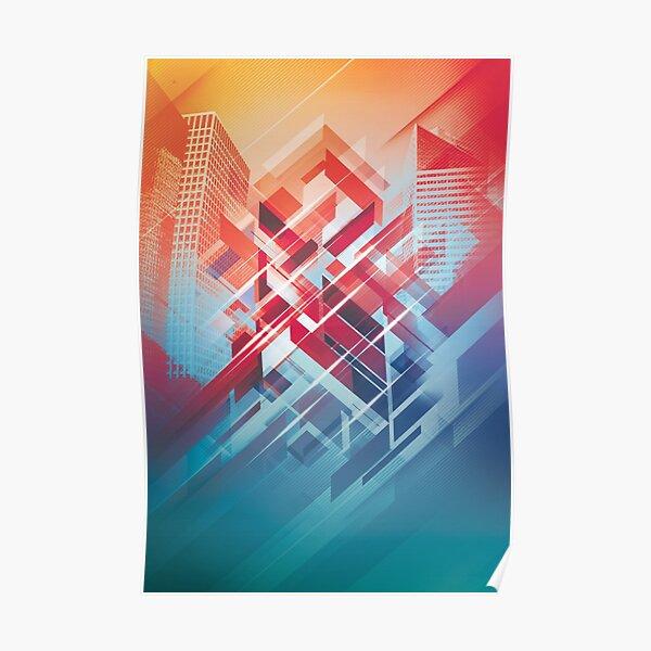 Future Cityscape Poster