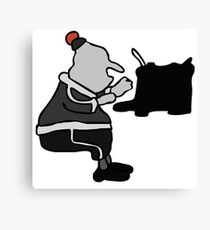 Mary and Max Canvas Print