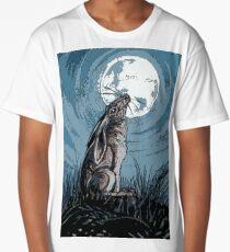 Moon Gazer Hare, Artwork Long T-Shirt