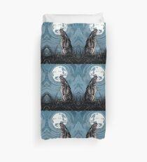 Moon Gazer Hare, Artwork Duvet Cover