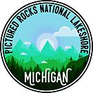 Pictured Rocks National Lakeshore Michigan by MyHandmadeSigns