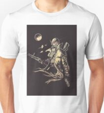 Fallout NCR Ranger Sketch Poster T-Shirt