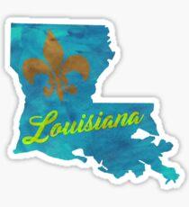 Louisiana - Watercolor Sticker