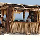 Ixchel Beach Bar by Cathy Jones
