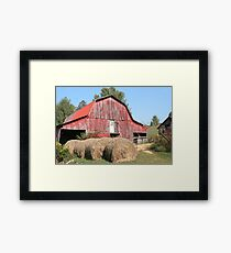 OLD TENNESSEE BARN Framed Print