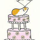 Guinea pig Birthday Cake by zoel