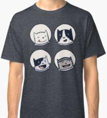 CatStronauts-Team Heads! Classic T-Shirt