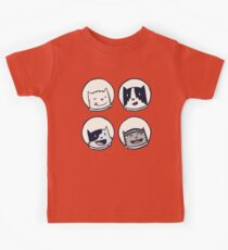 CatStronauts-Team Heads! Kids Clothes