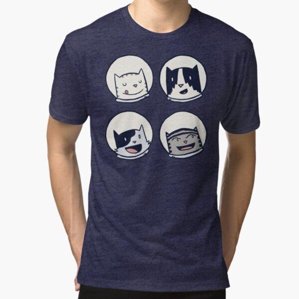 CatStronauts-Team Heads! Tri-blend T-Shirt