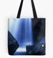 Blue Falls Tote Bag