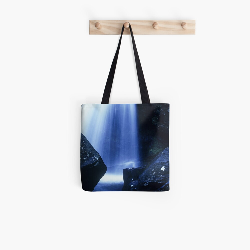 Blue Falls Tote Bag