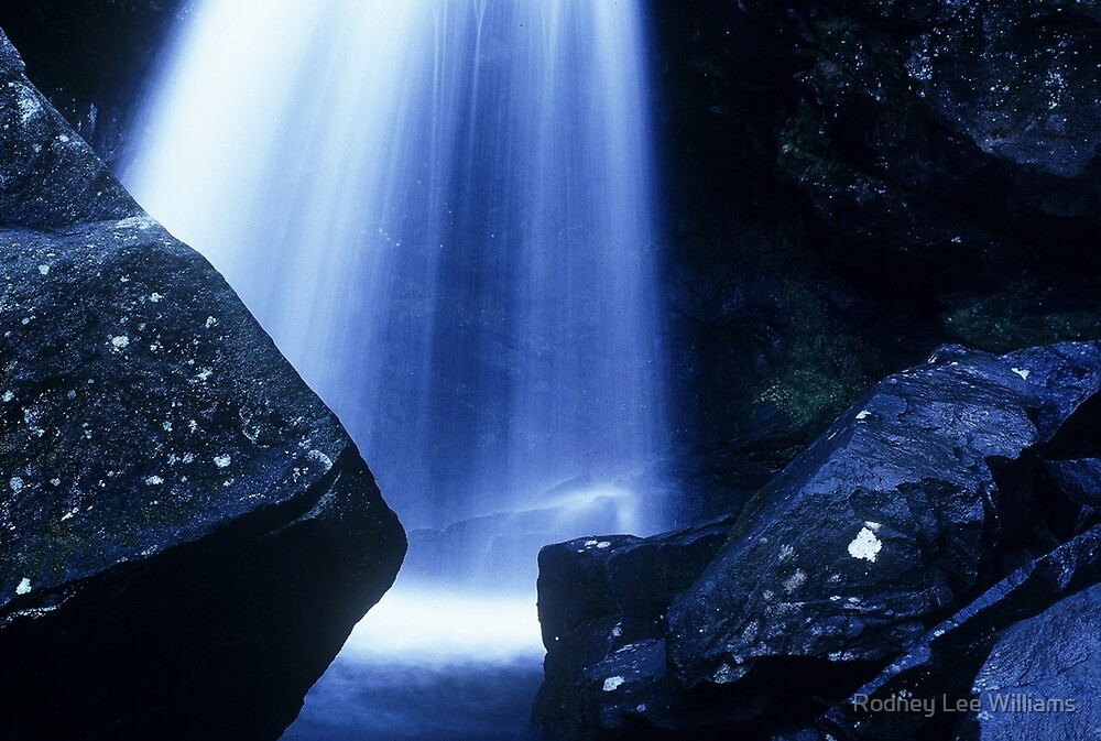 Blue Falls by Rodney Lee Williams