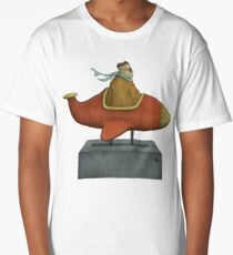 Road to Nowhere - Triptych Panel No. 3 Long T-Shirt