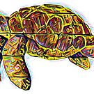 Awesome Rad Sea Turtle by Statepallets