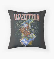 Classic Rock- Wizard Throw Pillow