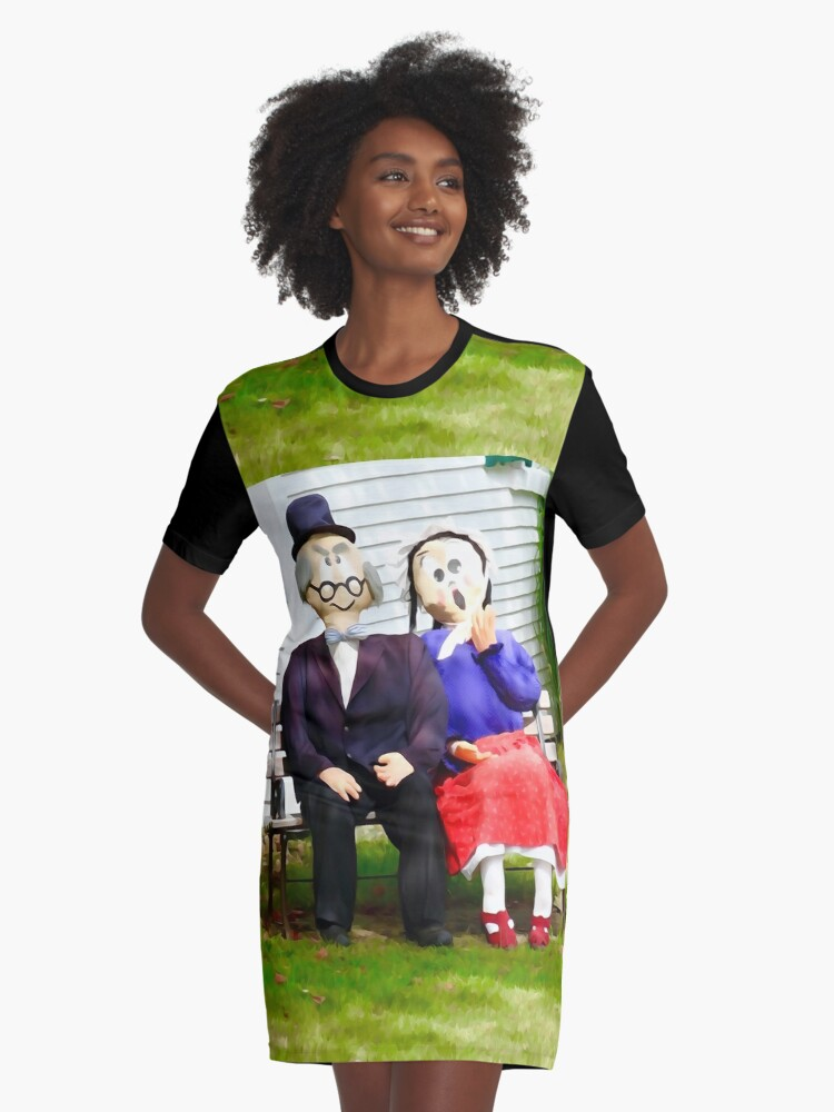 Love growing old with you Graphic T-Shirt Dress Front