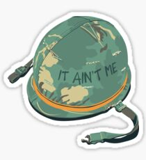 It Ain't Me - Fortunate Son Vietnam Army Soldier Helmet CCR Sticker