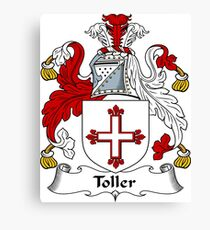 Toler or Toller Canvas Print