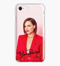 Lana Parrilla Autograph 2017 iPhone Case/Skin