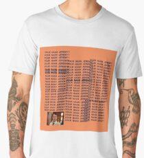 Peep Show - Four Naan Jeremy Life of Pablo Cover Men's Premium T-Shirt