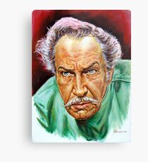 Vincent Price painting portrait Metal Print