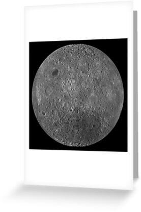 Far side of the moon dark side lunar lunatic moon greeting far side of the moon dark side lunar lunatic moon by m4hsunfo
