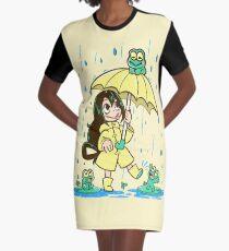 Vestido camiseta La mejor chica de rana