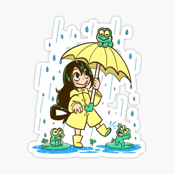 Best Frog Girl Sticker