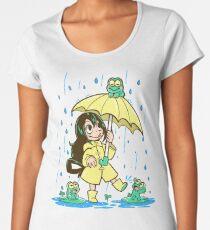 Best Frog Girl Women's Premium T-Shirt