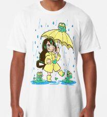 Bestes Frosch-Mädchen Longshirt