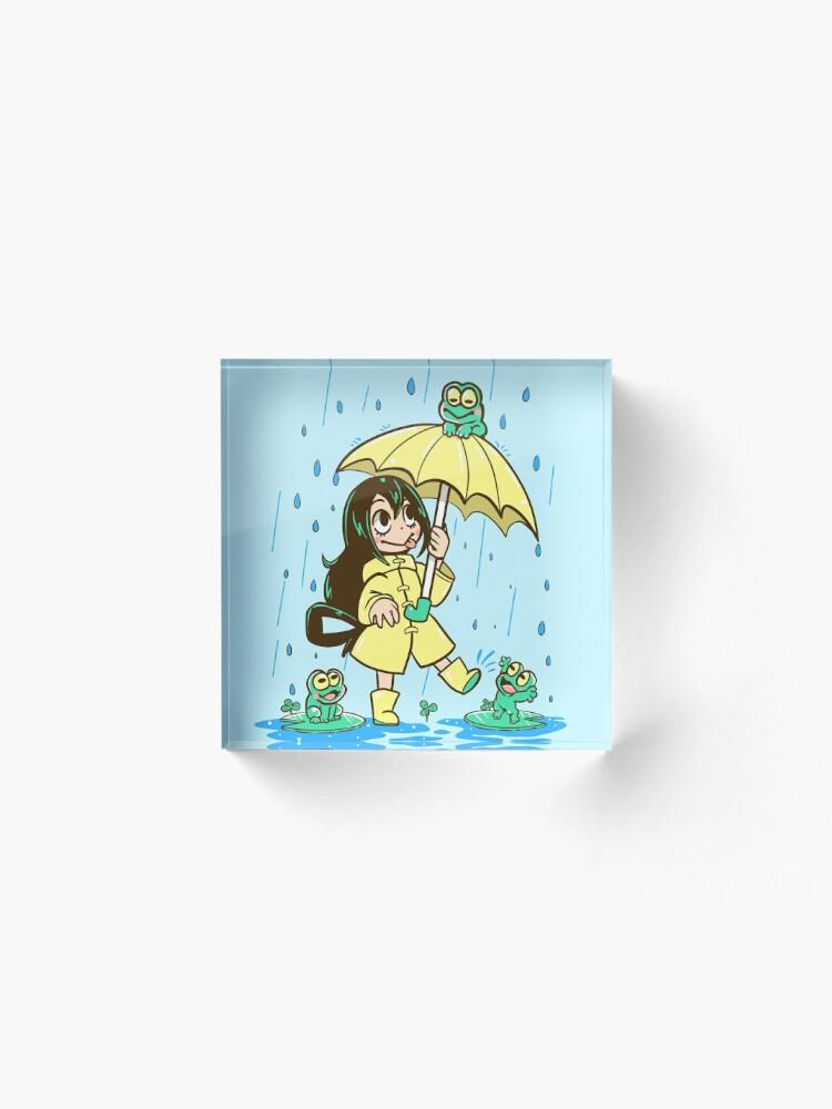 Alternate view of Best Frog Girl Acrylic Block