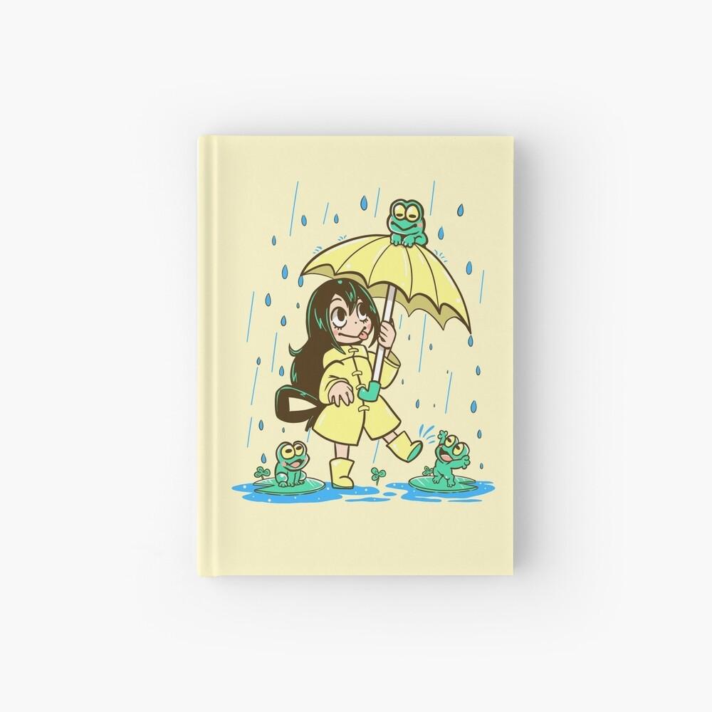 Best Frog Girl Hardcover Journal