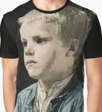 Young Faces from the past Series by Adam Asar, No 77 Graphic T-Shirt
