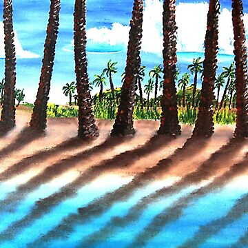 Shadows Of Palm Beach by kjgordon