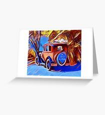 Just Married :) Greeting Card