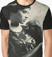 Young Faces from the past Series by Adam Asar, No 83 Graphic T-Shirt
