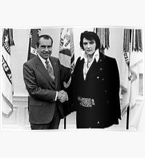 Richard Nixon And Elvis Poster