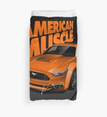 Mustang the American Muscle Duvet Cover