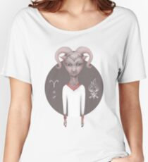 aries astro portrait Women's Relaxed Fit T-Shirt