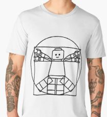 Vitruvian Minifigure Men's Premium T-Shirt