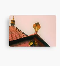 the snake temple Canvas Print