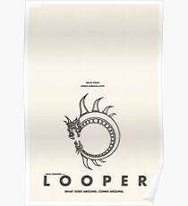 Looper - Alternate Minimalist Poster Poster