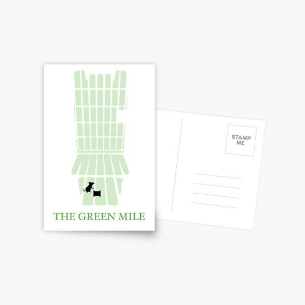 The Green Mile Graphic Design Postcard