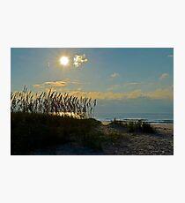 Beautiful Morning at Huntington State Park Beach Photographic Print