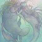 Mermaids in Love by savicorn