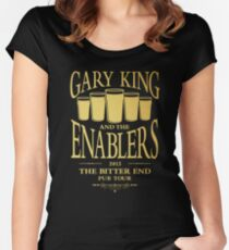 Gary King and the Enablers Women's Fitted Scoop T-Shirt