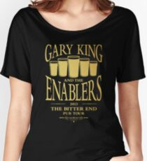 Gary King and the Enablers Women's Relaxed Fit T-Shirt