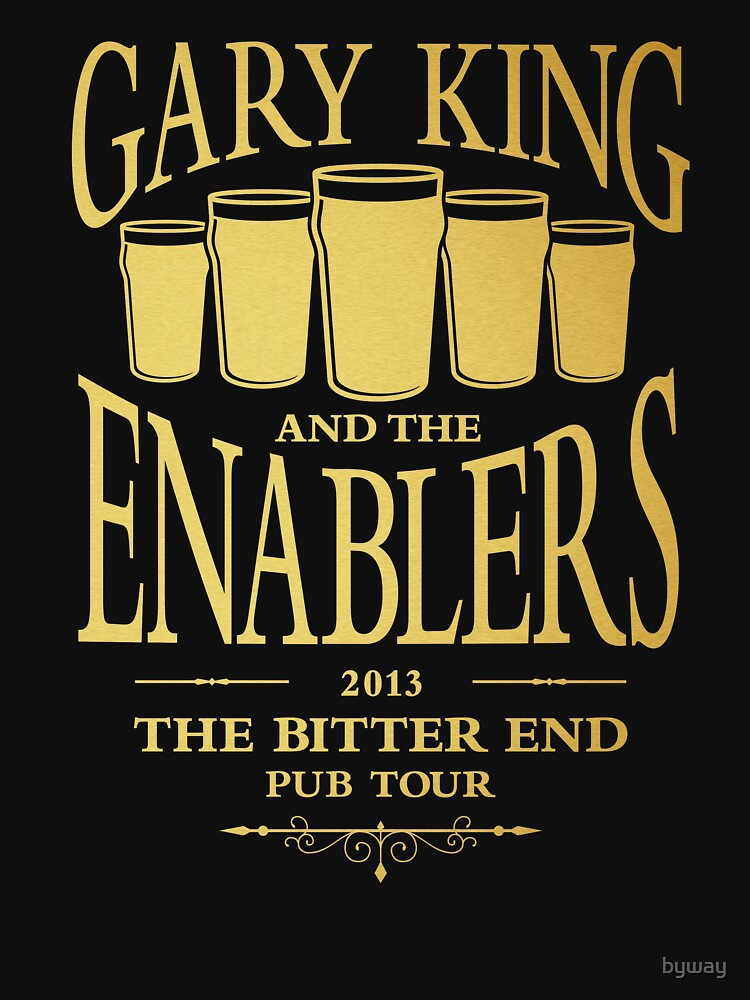 Gary King and the Enablers | Unisex T-Shirt